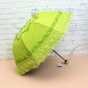 Зонт с кружевами