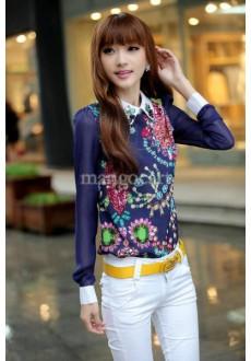 Красивая винтажная блузка