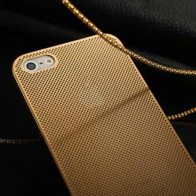 Чехол для iPhone 5/5s «Золотая сеточка»