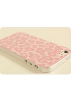Чехол для iPhone 5/5s «Розовый леопард»
