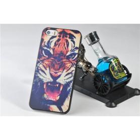 Чехол для iPhone 5/5s «Тигр»