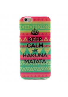 Чехол для iPhone 6 «Keep Calm&Hakuna Matata»