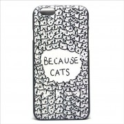 Чехол для iPhone 6 «Потому что котики»