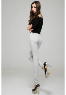 Узкие стильные джинсы