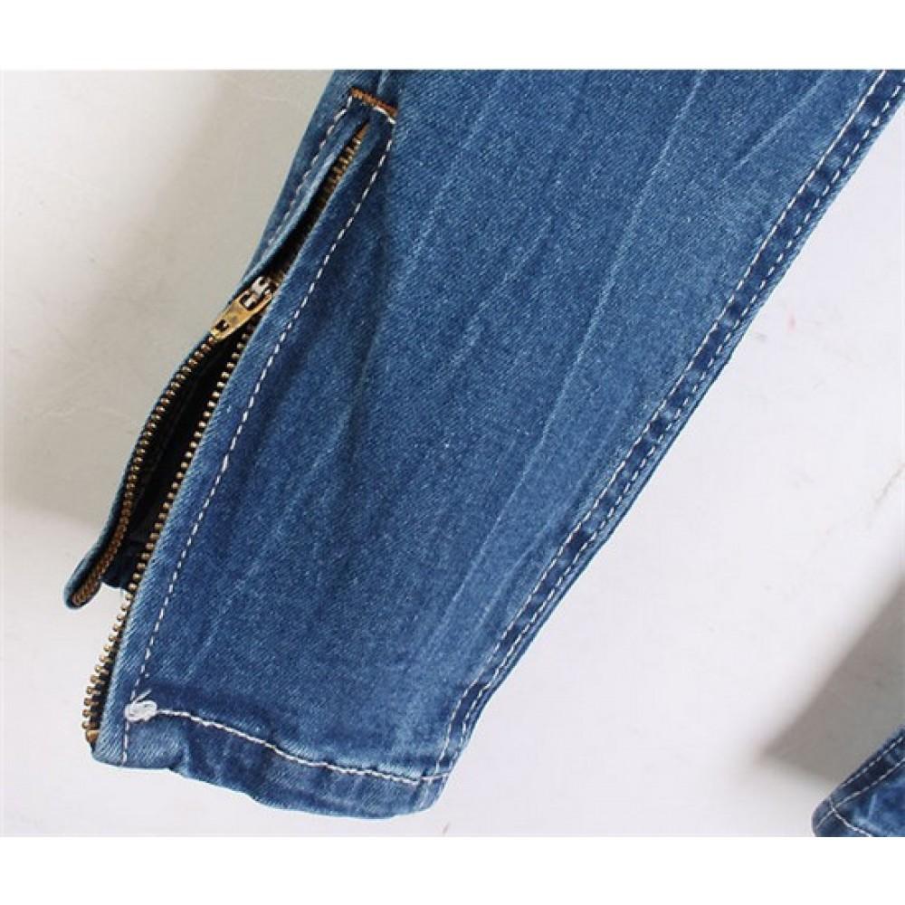 Как сделать полоски джинсам 1