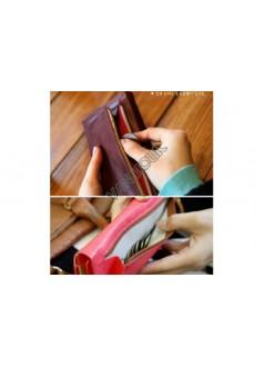 Стильный кожаный кошелек