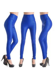 Синие лосины