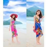 Платье-парео для пляжа