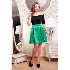 Платье с расклешённой юбкой Milena