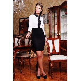 Короткое офисное платье Alessandra