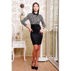 Стильное офисное платье Victoria