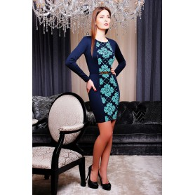 Облегающее платье с длинным рукавом Florina