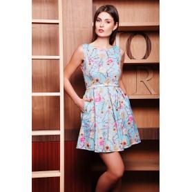 Летнее платье в цветочек Fiona
