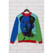 Свитшот с принтом Мао Цзэдун