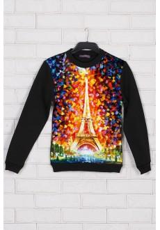 Яркий свитшот «Париж»