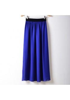 Простая длинная юбка
