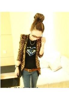 Леопардовый жакет
