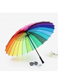 Зонт радужный